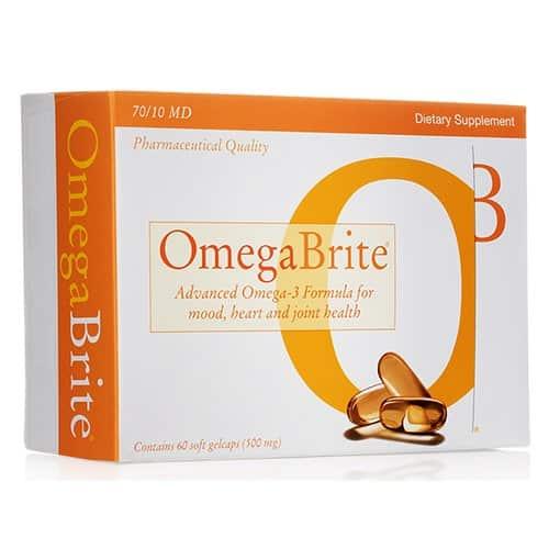 Omegabrite Gelcaps - Omega-3 capsules